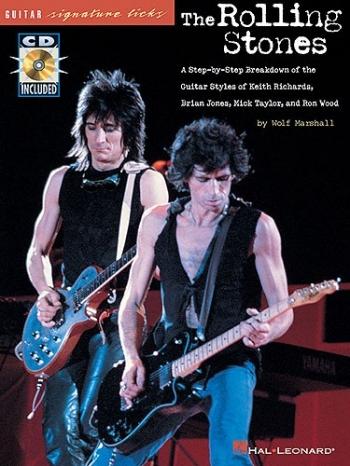 Signature Licks: Rolling Stone: Guitar Tab: Book & CD