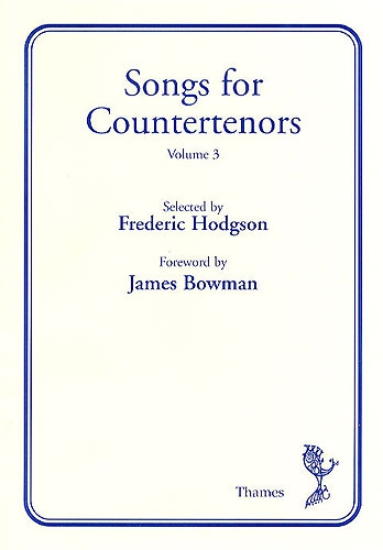 Songs For Counter Tenors: Vol 3: Voice and Piano