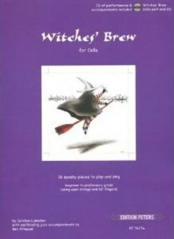 Witches Brew: 16 Spooky Pieces: Cello Part (Peters)