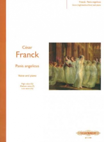 Panis Angelicus (O Lord Most Holy)  Voice and Piano: High G/ Med F/Low Eb (Peters)