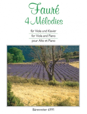 4 Melodies: Viola and Piano  (Barenreiter)