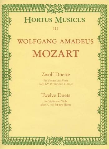12 Duos Violin & Viola (Hortus Musicus)