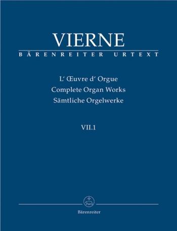 Pieces De Fantasisie Op 51: Complete Organ Works: Vii.1 (Barenreiter)