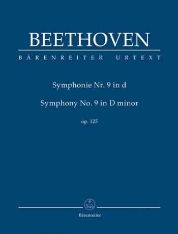 Symphony No 9:  D Minor : Op125: Study score (Barenreiter)