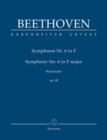 Symphony No.6: F Major: Pastorale : Op68: Study score (Barenreiter)