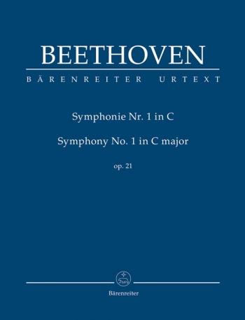 Symphony  No.1: C Major: Op21: Study score (Barenreiter)