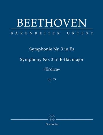 Symphony No.3: Eb Major: Eroica: Op55: Study score (Barenreiter)