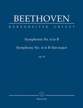 Symphony No.4: Bb Major:  Op60: Study score (Barenreiter)