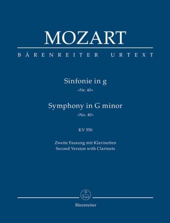 Symphony No.40: G Minor: KV550Study score (Barenreiter)