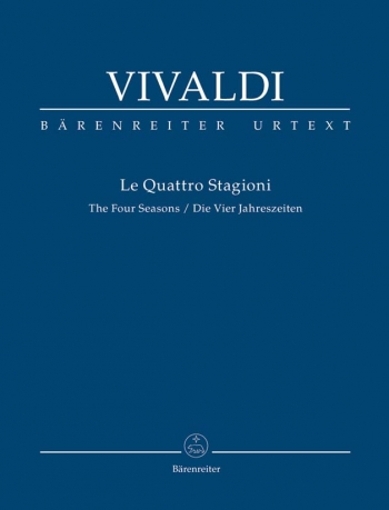 The Four Seasons: Le Quattro Stagioni: Study score (Barenreiter)