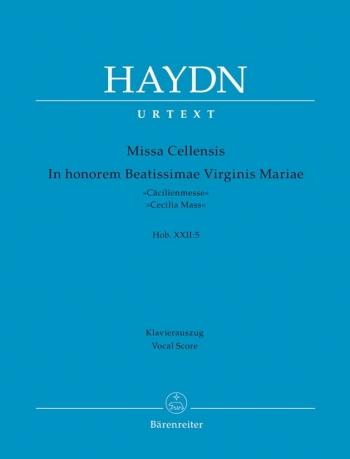 St Cecilia  Mass: Missa Cellensis: Vocal Score Urtext (Barenreiter)