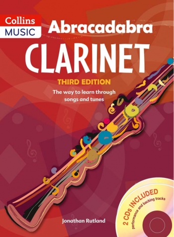 Abracadabra Clarinet: Pupils Book Third Edtion: Book & 2Cds (Rutland) (Collins)
