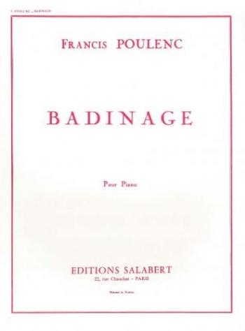 Badinage: Piano