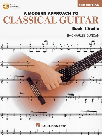 Modern Approach To Classical Guitar: Book 1