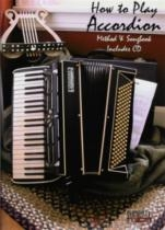 How To Play Accordion Method and Songbook: Book & CD