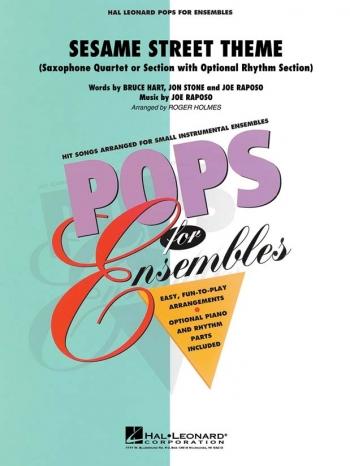 Sesame Street Theme: Saxophone Ensemble: (AATB)