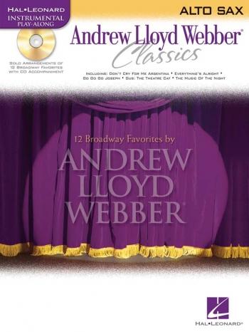 Instrumental Play-along: Andrew Lloyd Webber Classics: Alto Sax: Bk&cd