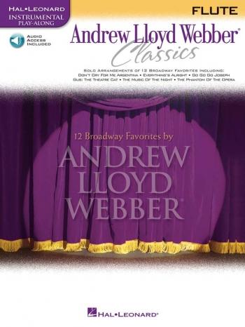 Instrumental Play-alon: Andrew Lloyd Webber Classics: Flute-: Book & CD