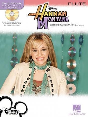 Instrumental Play-along: Hannah Montana: Flute: Book & CD