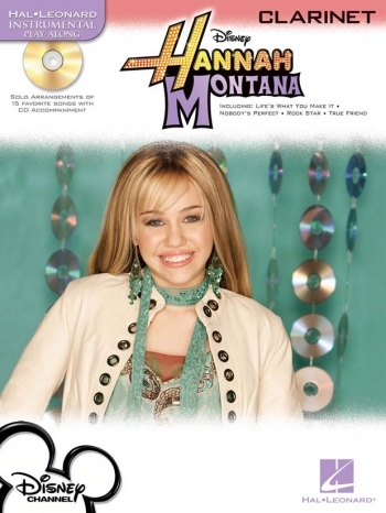 Instrumental Play-along: Hannah Montana: Clarinet: Bk&cd