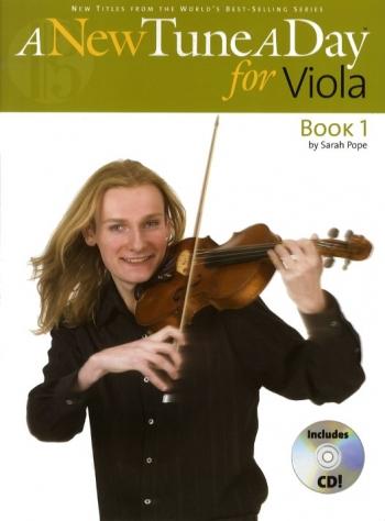 New Tune A Day: Viola Book 1 Book & Cd