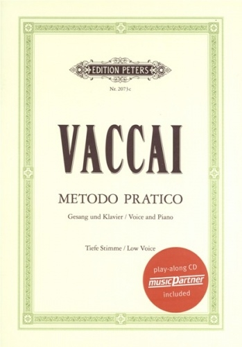 Practical Method (Metodo Pratico): Low Voice: Vocal: Book & Cd (Peters)