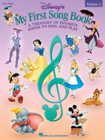 Disneys: My First Song Book: 3: Easy Piano