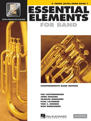 Essential Elements 2000 Book: 1: Tenor Horn: Book & CD