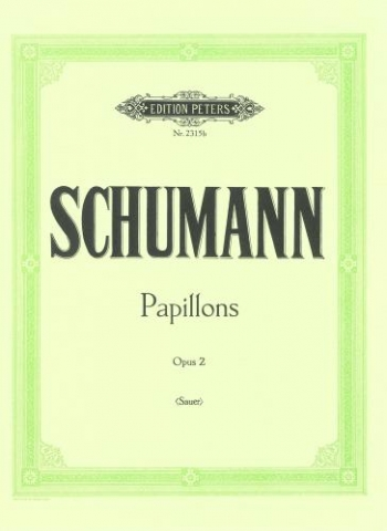 Papillons: Op.2: Piano (Peters)