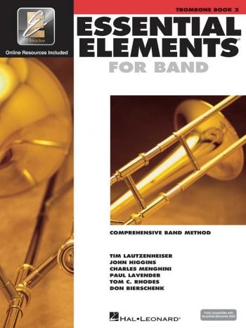 Essential Elements 2000: Book 2: Trombone: Bass Clef: Book & Cd