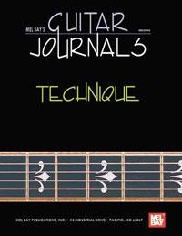 Guitar Journals: Technique:  Hardcover