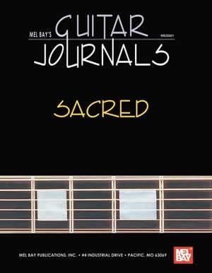 Guitar Journals: Sacred: Hardcover