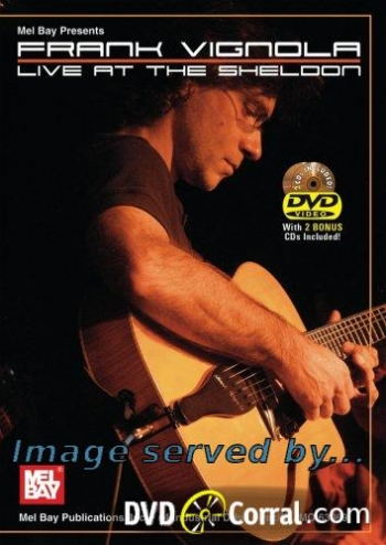 Live At The Sheldon: Frank Vigola: 2Cds andDVD