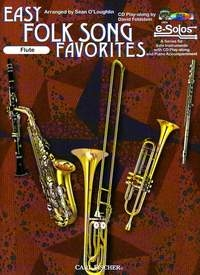 Easy Folk Song Favourites: Flute Book & CD