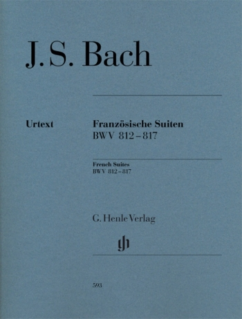 French Suites (6) Bwv812-Bwv817: Piano (Henle)