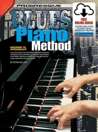 Progressive Blues Piano Method: Book & Cd (Gelling)
