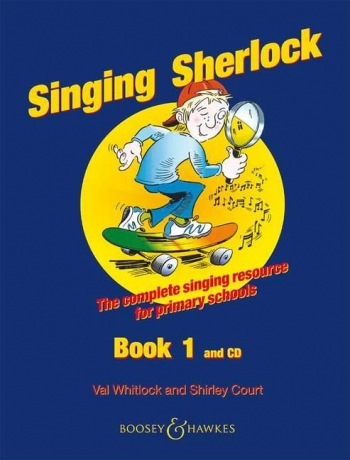 Singing Sherlock 1: Songbook: Book & Cd  (whitlock & Court)