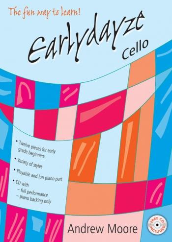 Earlydayze: Cello: Book & CD