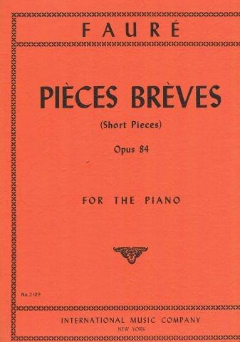 8 Pieces Breves Op.84