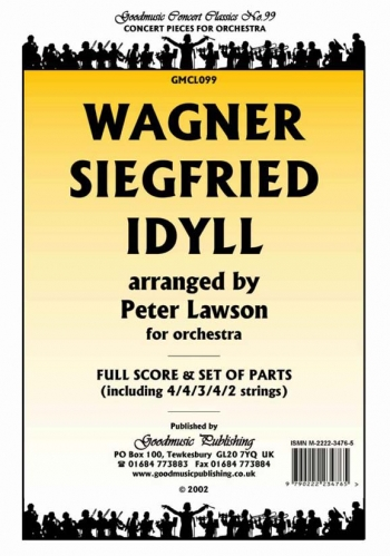 Orch/wagner/siegfried Idyll/orchestra/scandpts (lawson)