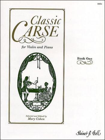 Classic Carse Book 1: Violin & Piano (ed Cohen)
