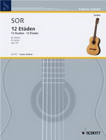 12 Studies: Op29: Guitar