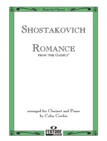Romance From The Gadfly: Clarinet & Piano (Fentone)