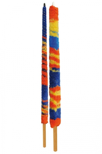 Oboe: Mops Silk: Set Of 2: Wooden Handle