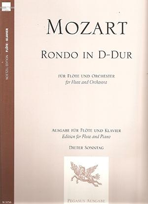 Rondo: D Maj: Kv 184: Flute (Hortus Musicus)