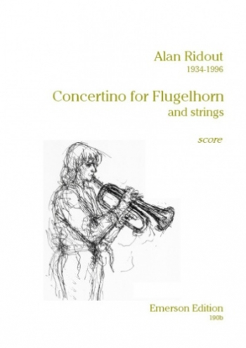 Concertino: Flugel Horn/Trumpet And Strings (Set Of Parts) (Emerson)
