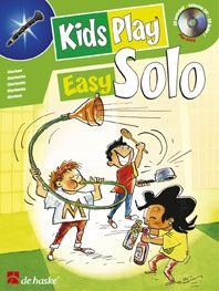 Kids Play Easy Solo: Clarinet: Book & CD