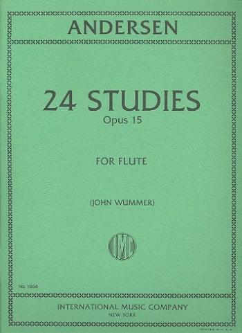 24 Studies: Op15: Flute (International)