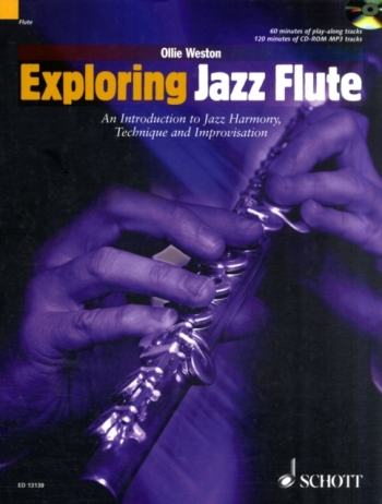 Exploring Jazz Flute: Introduction To Jazz Harmony Technique and Improvisation Book & CD