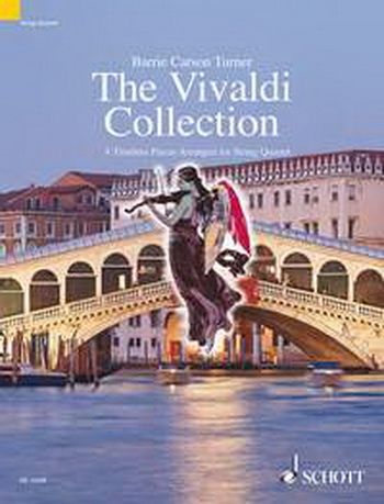 Vivaldi Collection: 8 Timeless Pieces: String Quartet: Scand Pts (carson Turner)